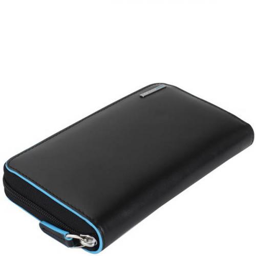 Черное портмоне Piquadro BL Square, фото