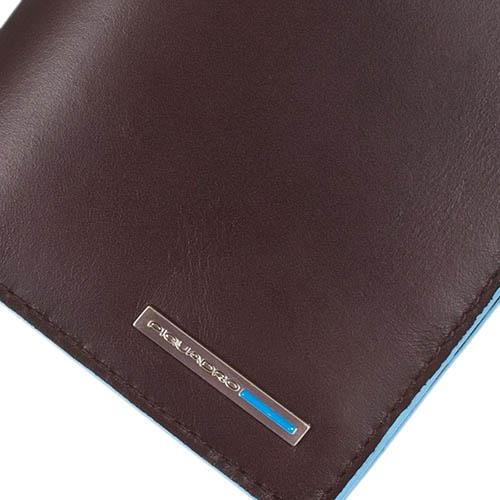 Коричневый тревеллер Piquadro Blue Square из кожи, фото