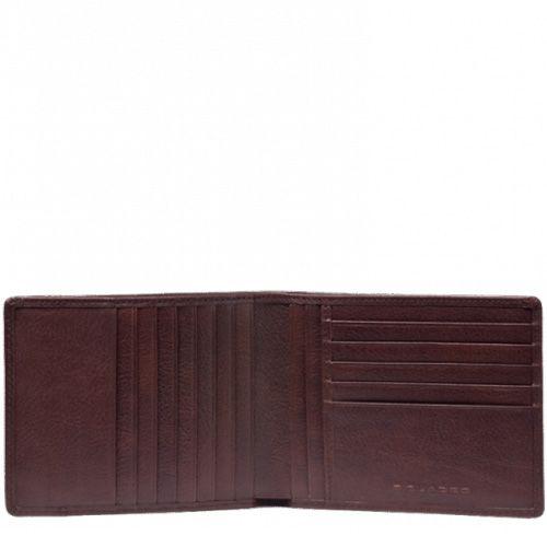 Портмоне Piquadro Vibe коричневое с 13 слотами для карт, фото