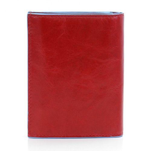 Портмоне Piquadro с отделением для монет Blue square красное, фото