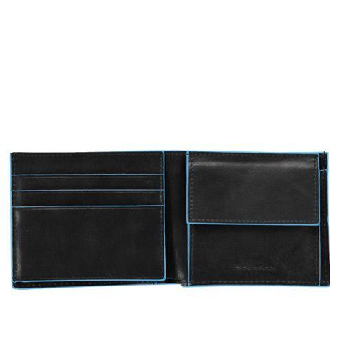 Портмоне с отделением для монет Blue square, фото