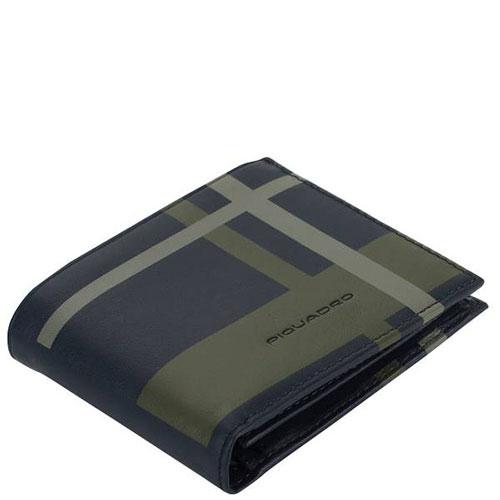 Мужской портмоне Piquadro Tag с RFID защитой , фото