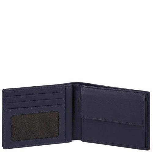 Портмоне Piquadro Tag с отделением для монет и RFID защитой , фото