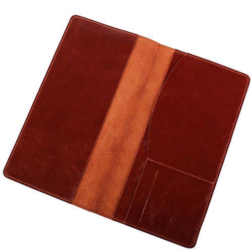 Травел-кейс Rechi.Ua коричневого цвета из глянцевой кожи, фото