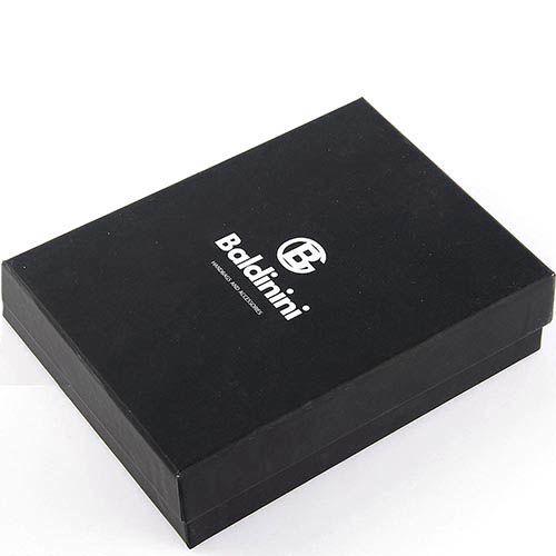 Портмоне черного цвета Baldinini на кнопке, фото