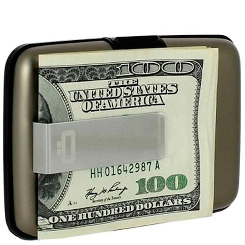 Визитница с зажимом для денег Ogon Designs Stockholm money clip, фото