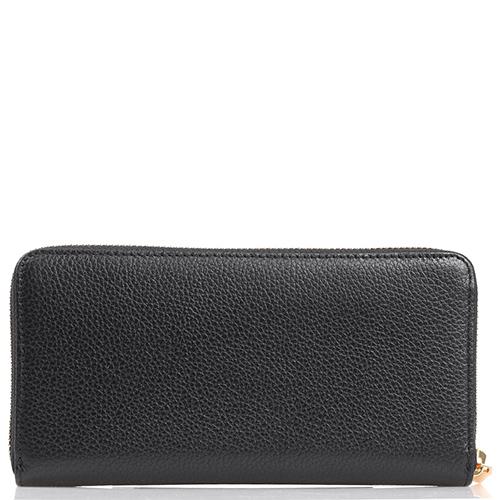 Женское портмоне Coccinelle с фирменной шильдой, фото