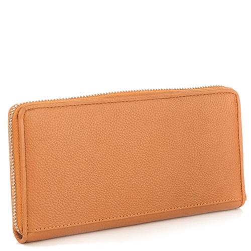 Светло-коричневый кошелек Tosca Blu Dali с карманом на молнии, фото