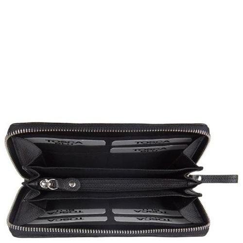 Черный кошелек Tosca Blu Dali на молнии, фото