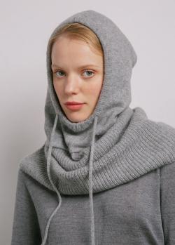 Капор кашемировый GD Cashmere серый, фото