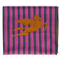 Шарф Etro фиолетового цвета в полоску, фото