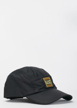 Черная кепка EA7 Emporio Armani с логотипом, фото