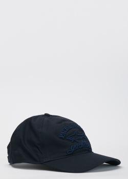 Кепка синего цвета Paul&Shark с 3D-вышивкой, фото