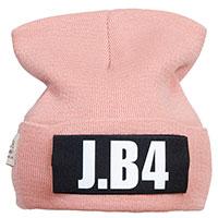 Розовая шапка J.B4 Just Before с липучкой, фото