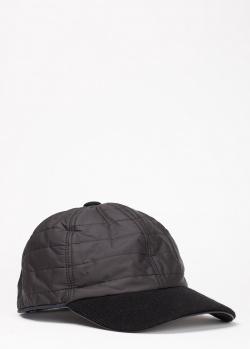 Черная кепка Harmont&Blaine с горизонтальной стежкой, фото