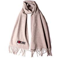 Женский шарф Moschino с бахромой, фото