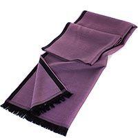 Палантин Maalbi темно-лилового цвета, фото