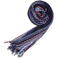 Женский шарф Missoni с узором в виде волн, фото