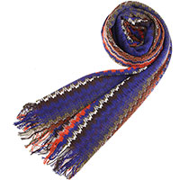 Цветной шарф Missoni с узором, фото