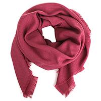 Однотонный платок Maalbi бордового цвета, фото