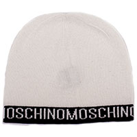 Белая шапка Moschino из шерсти, фото