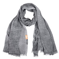 Палантин AMO Accessori серого цвета, фото