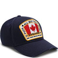 Темно-синяя кепка Dsquared2 с канадским флагом, фото