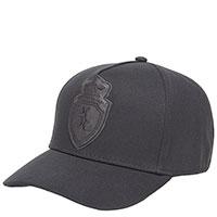 Черная кепка Billionaire с кожаным логотипом, фото