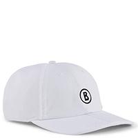 Бейсболка Bogner белая с логотипом, фото