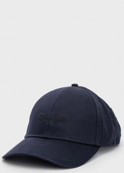 Синяя кепка Calvin Klein из органического хлопка, фото