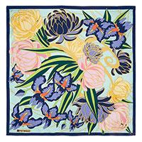 Зеленый платок Freywille с цветочным принтом, фото