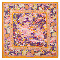 Оранжевый платок Freywille из шелка, фото