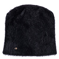 Ангоровая шапка Coccinelle черного цвета, фото