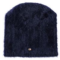 Синяя шапка Coccinelle из ангоры, фото