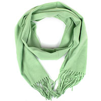 Зеленый шарф Maalbi из натуральной шерсти, фото