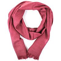 Малиновый шарф Maalbi из натуральной шерсти, фото