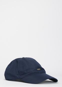 Синяя кепка Paul&Shark с металлическим логотипом, фото