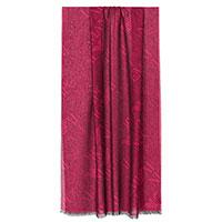 Шарф Emporio Armani в бордовом цвете, фото