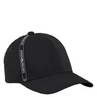 Кепка Emporio Armani черного цвета с логотипом, фото