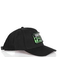 Черная кепка Frankie Morello с вышивкой, фото