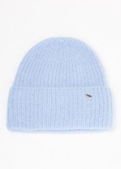 Ангоровая шапка GD Cashmere голубого цвета, фото