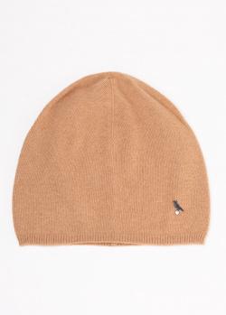 Кашемировая шапка GD Cashmere коричневого цвета, фото