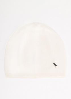 Кашемировая шапка GD Cashmere в белом цвете, фото