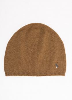 Кашемировая шапка GD Cashmere с декором, фото