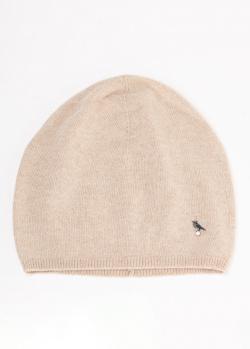Кашемировая шапка GD Cashmere цвета светлый тауп, фото