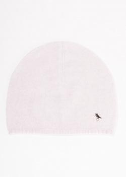 Кашемировая шапка GD Cashmere сиреневого цвета, фото