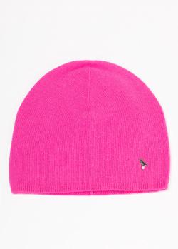Кашемировая шапка GD Cashmere малинового цвета, фото