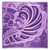 Розовый платок Freywille с изображением сфинкса, фото