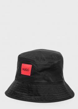Мужская панама Hugo Boss Hugo черного цвета, фото