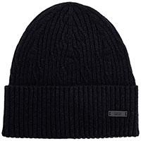 Мужская шапка Hugo Boss в черном цвете, фото